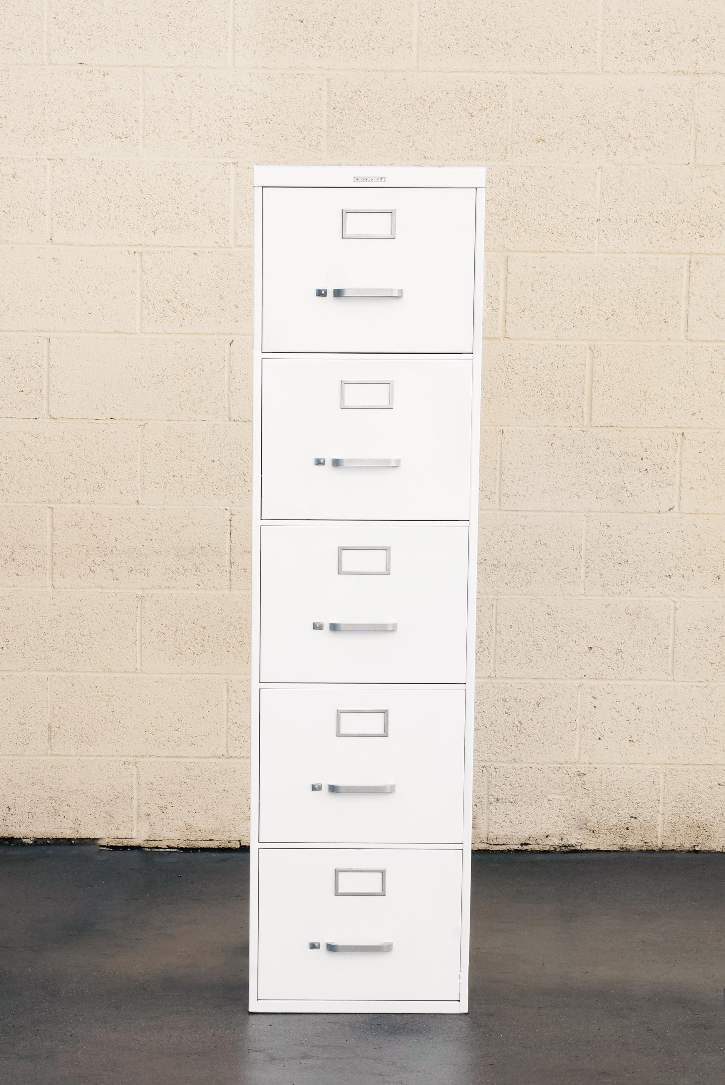 Midcentury Steel File Cabinet, Custom Refinished To Order
