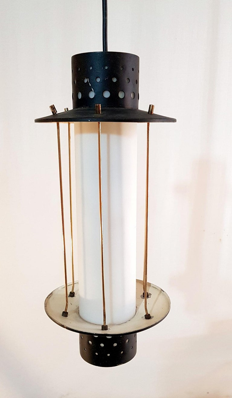 20th Century Midcentury Stilnovo Pendant, Italy For Sale