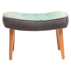 Midcentury Stool Model Pragh Designed by Ib Madsen & Acton Schubell