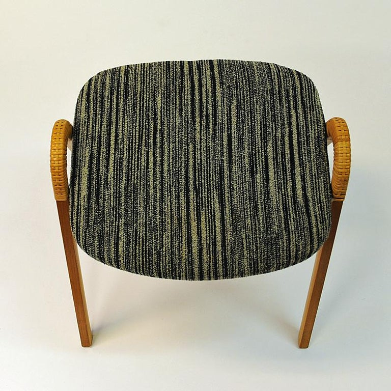 Midcentury stools by Møre Lenestolfabrikk 1950s, Norway - 2 pcs In Good Condition In Stockholm, SE