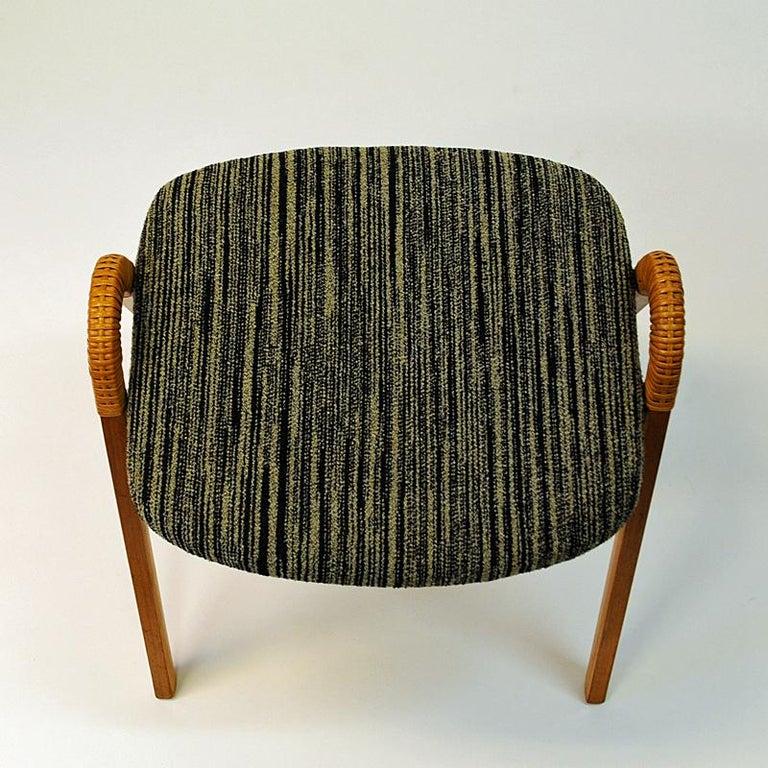 Mid-20th Century Midcentury stools by Møre Lenestolfabrikk 1950s, Norway - 2 pcs