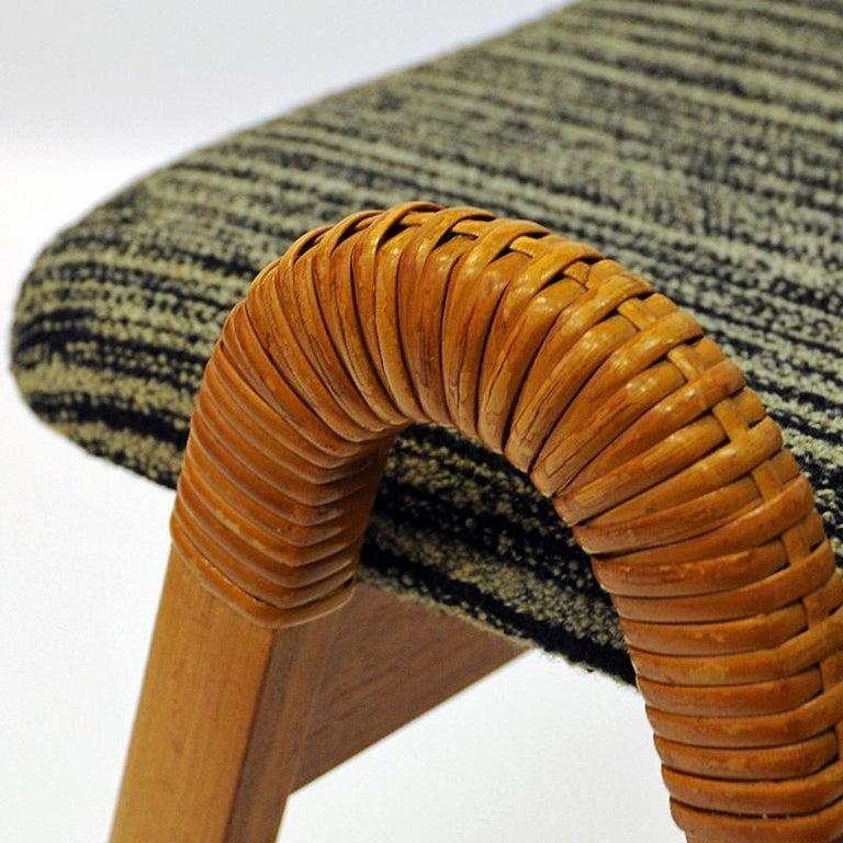 Midcentury stools by Møre Lenestolfabrikk 1950s, Norway - 2 pcs 1