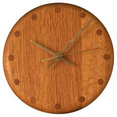 Mid Century Studio Wall Clock