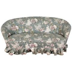 "Midcentury Style of Gio Ponti for ""Casa e Giardino"" Fabric Sofa, Italia, 1950s"