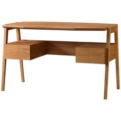Midcentury Stil, Schreibtisch aus Kirschbaumholz mit Schubladen