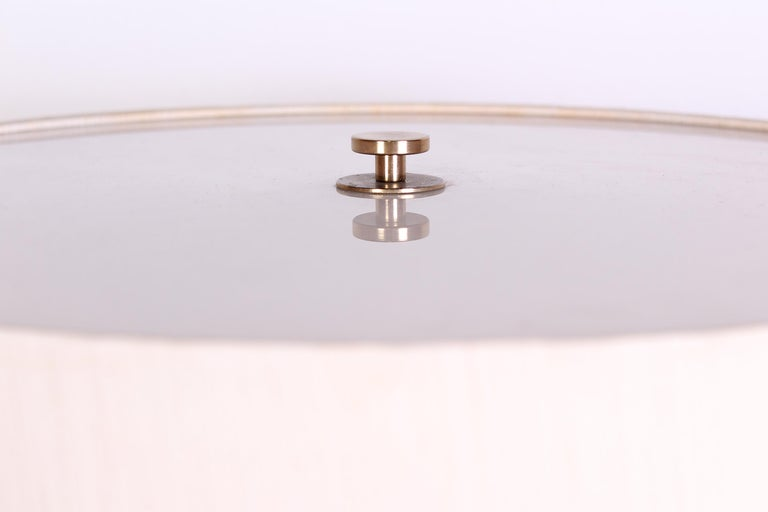 Midcentury Swedish Brass and Teak Floor Lamp by Bergboms, 1950s 2