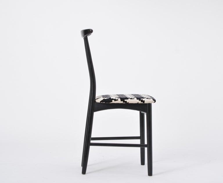 Wood Swedish Mid-Century Modern chair by Gemla Diö For Sale