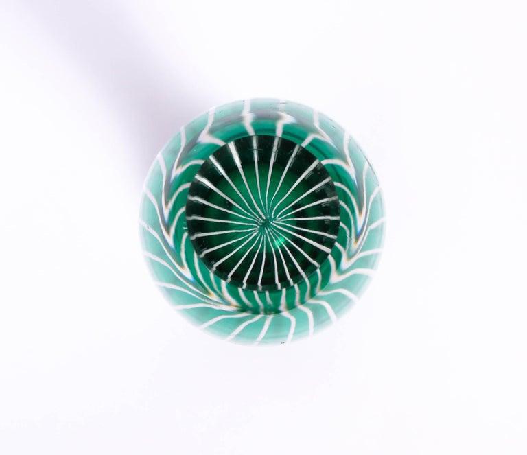 Midcentury Swedish Glass Vase, 1950s For Sale 4