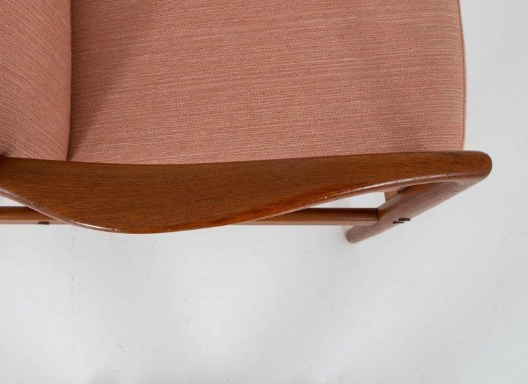 Midcentury Swedish Lounge Chair by Bertil Fridhagen for Bodafors For Sale 2