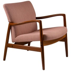 Midcentury Swedish Lounge Chair by Bertil Fridhagen for Bodafors