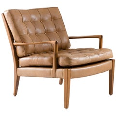 """Midcentury Swedish Lounge Chairs """"Löven"""" by Arne Norell"""