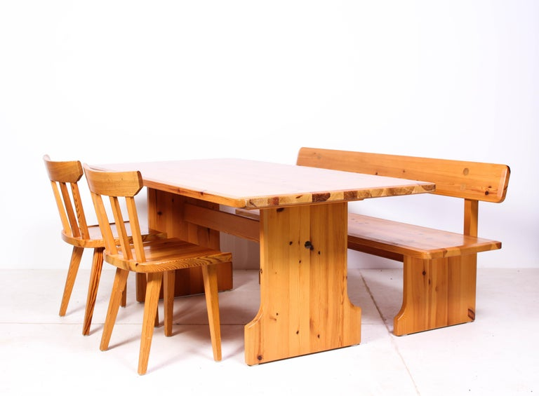 Fantastic Midcentury Swedish Pine Dining Room Set By Karl Andersson Soner Gmtry Best Dining Table And Chair Ideas Images Gmtryco