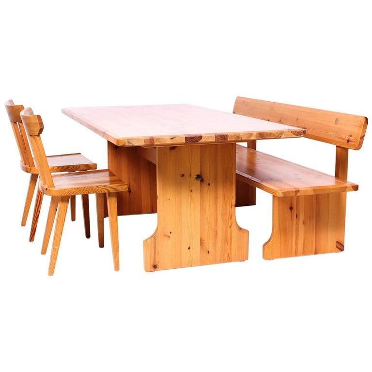 Midcentury Swedish Pine Dining Room Set by Karl Andersson & Söner