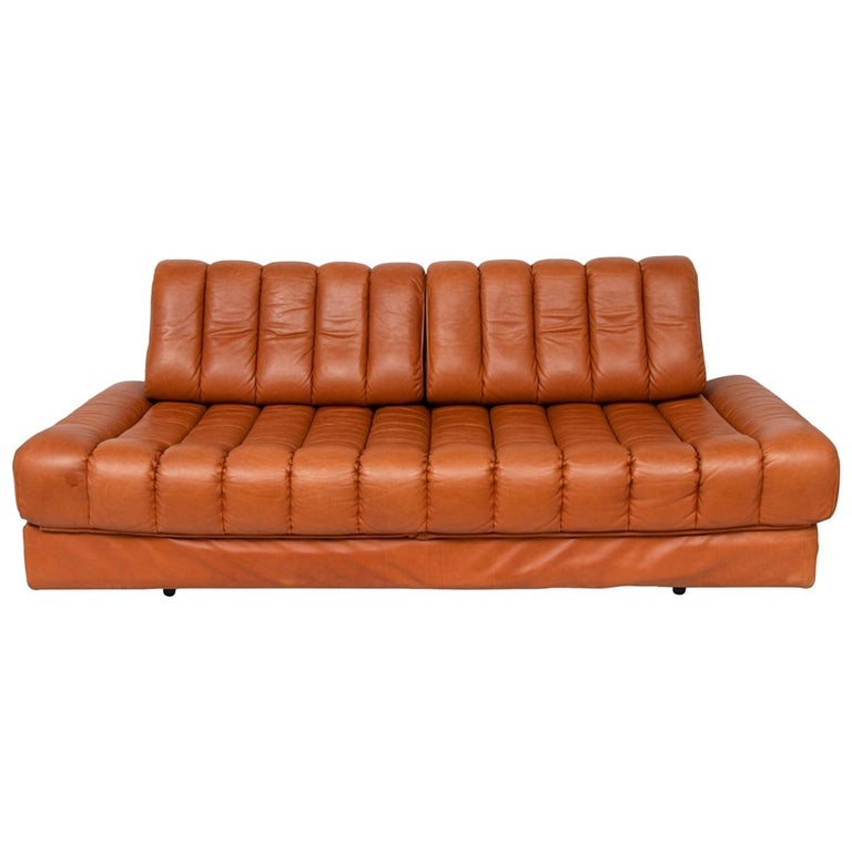 Midcentury Swiss De Sede DS 85 Sofa Bed For Sale