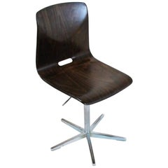 Midcentury Swiss Swivel Chair from Embru, 1960s