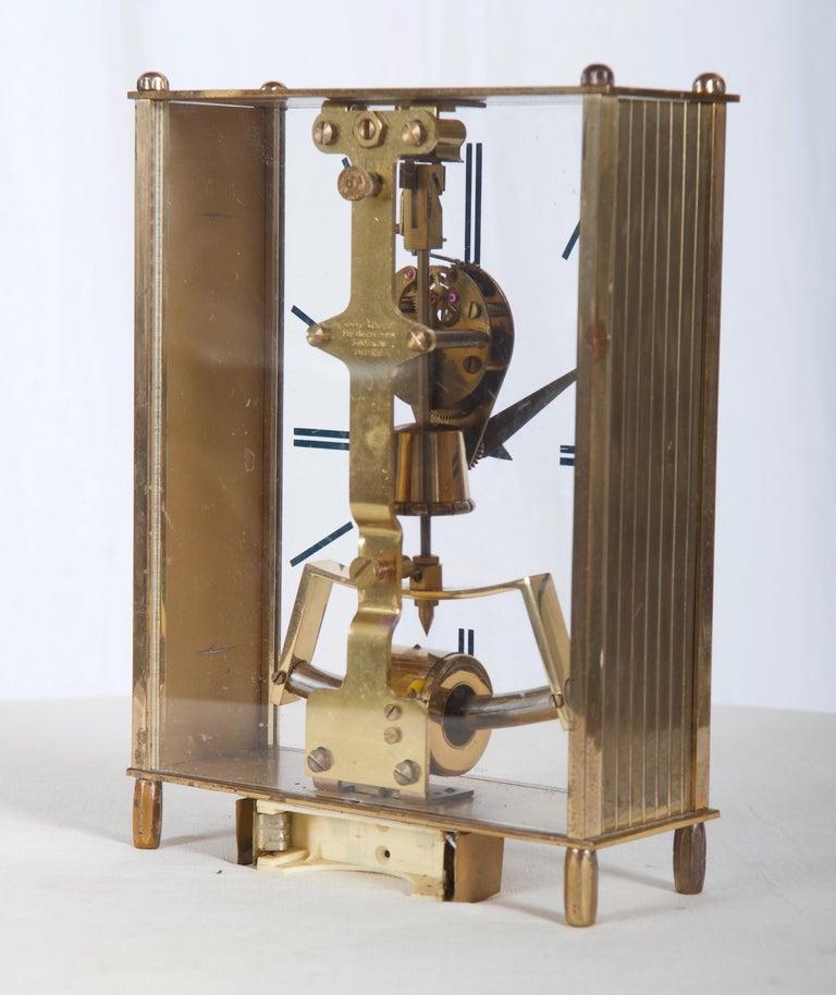 Mid-Century Modern Midcentury Table Clock by Kundo, Japan For Sale