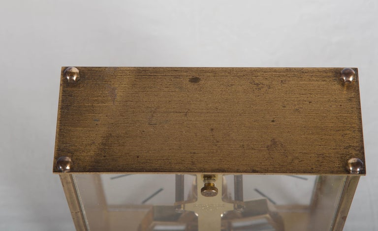 Mid-20th Century Midcentury Table Clock by Kundo, Japan For Sale