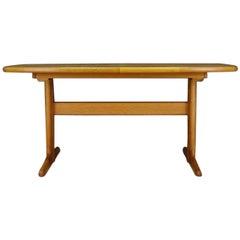 Midcentury Table Danish Design Ash Retro