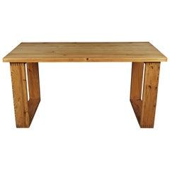 Midcentury Table Designed by Ate Van Apeldoorn, Netherlands, circa 1960
