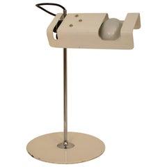 Midcentury Table Lamp by Joe Colombo Model #291 Spider in White for Oluce, 1970