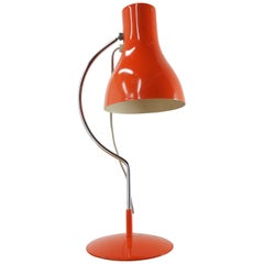 Midcentury Table Lamp Designed by J. Hurka for Napako 1970s type 0521