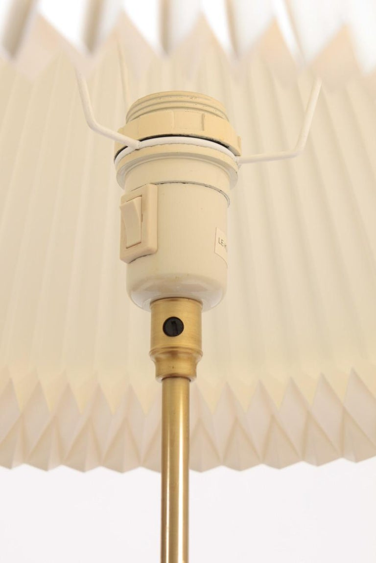 Mid-20th Century Midcentury Table Lamp in Brass Designed by Esben Klint i, 1948 For Sale