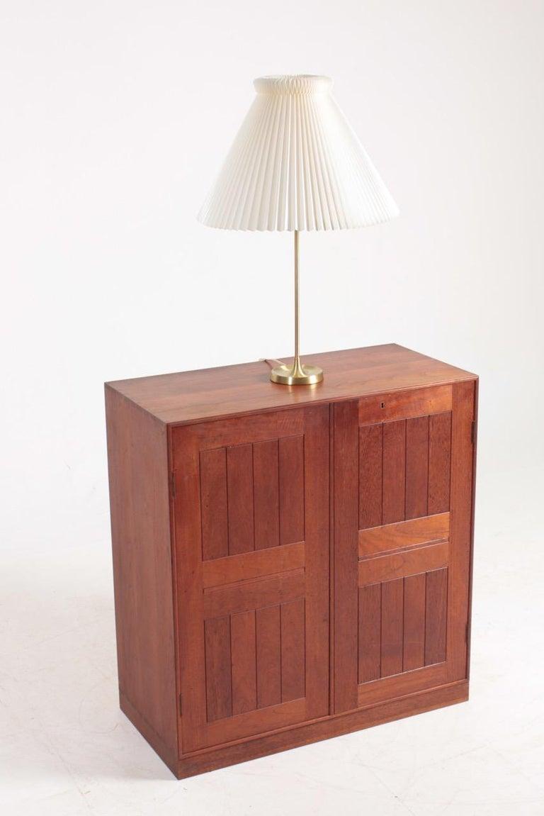 Midcentury Table Lamp in Brass Designed by Esben Klint i, 1948 For Sale 1