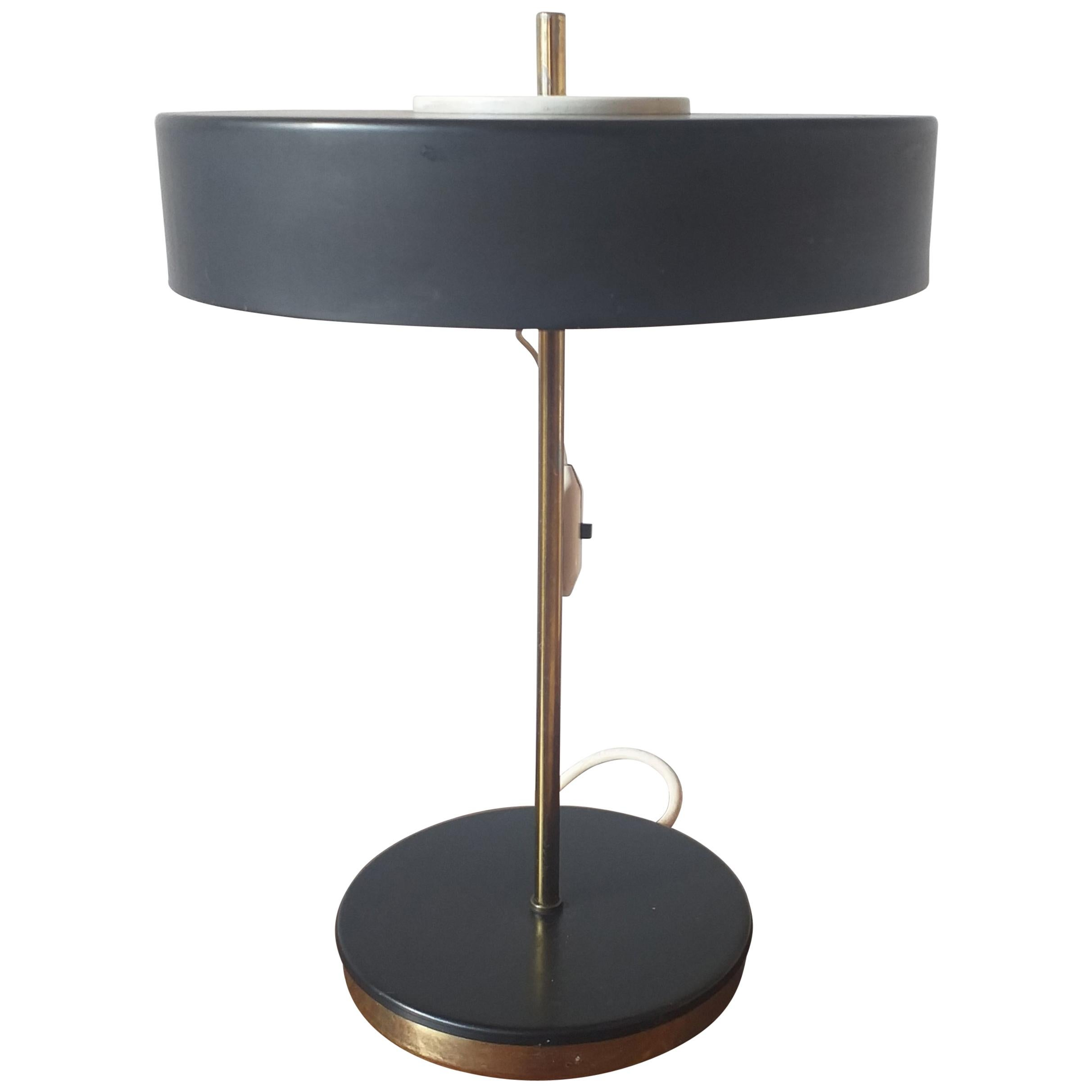 Midcentury Table Lamp Kamenicky Senov, 1970s
