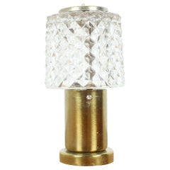 Midcentury Table Lamp Kamenický Šenov Preciosa, 1970s