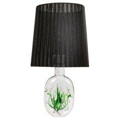 "Midcentury Table Lamp ""Seaweed"" Kosta Vicke Lindstrand, 1950s, Sweden"