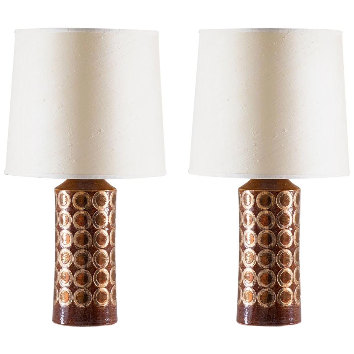 Midcentury Table Lamps by Aldo Londi for Bitossi