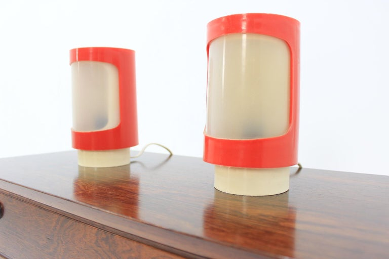 Mid-Century Modern Midcentury Table Lamps Cosmonaut, 1970s For Sale