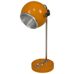 "Midcentury Table or Desk Space Age ""Eyeball"" Lamp , 1960s, France, by Disderot"