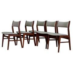 Midcentury Teak Chairs Danish Design Teak Retro, 1960s