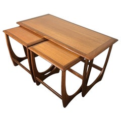 Midcentury Teak Coffee and Nesting Table Set by G Plan