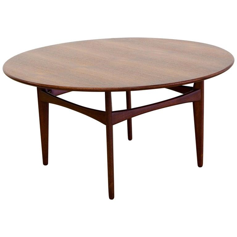Midcentury Teak Coffee Table By Karl Erik Ekselius For JOC