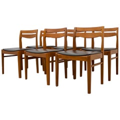 Midcentury Teak Dining Chairs from Nathan Set of 4