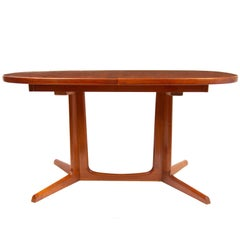 Midcentury Teak Extending Dining Table by Niels O.Moller for Gudme Mobelfabrik