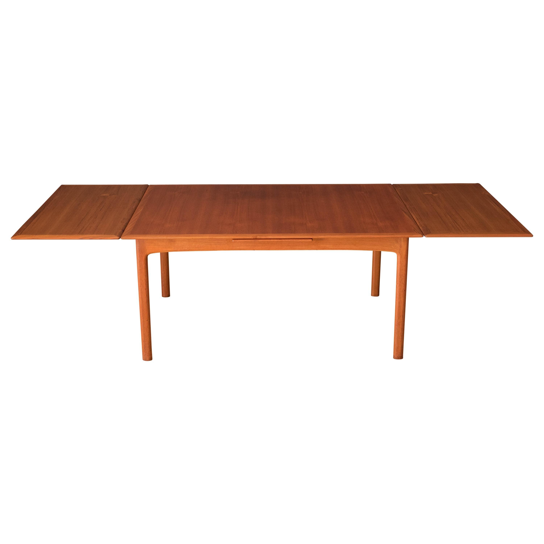 Vintage Scandinavian Teak Extension DUX Dining Table by Folke Ohlsson
