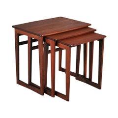 Midcentury Teak Nest of Tables, c.1960