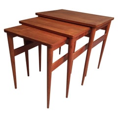 Midcentury Teak Nest of Tables