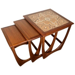Midcentury Teak Nesting Side Table Set by G Plan
