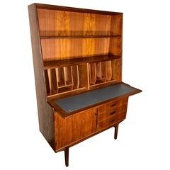 Midcentury Teak Secretary Desk by Turnidge of London