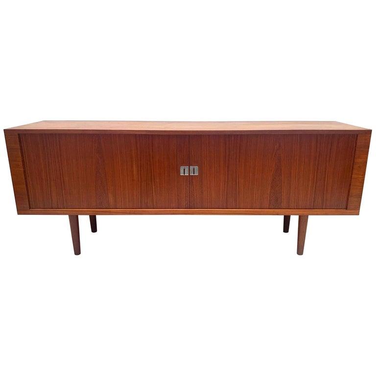 """Midcentury Teak Sideboard by Hans J. Wegner, RY-25 """"President"""", Denmark, 1960s For Sale"""