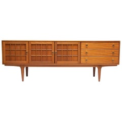 Midcentury teak sideboard credenza by younger