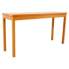 Midcentury Teak Sofa Table Foyer Entry Console
