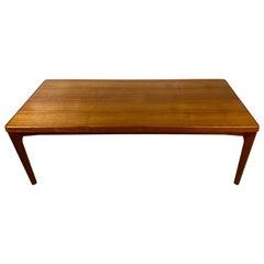 Midcentury Teak Vejle Stole Og Mobelfabrik Coffee Table