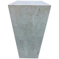 Midcentury Tessellated Stone Pedestal Table