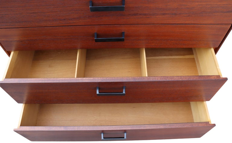 Midcentury Thin Edge Cabinet by George Nelson For Sale 5