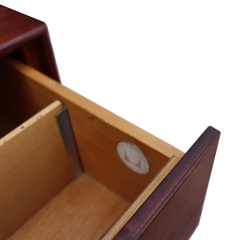 Midcentury Thin Edge Cabinet by George Nelson For Sale 7